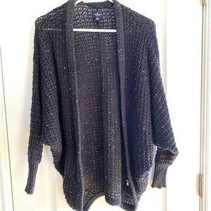 Knit cardigan / Navy